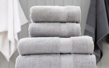 There are variety of sizes available in towels