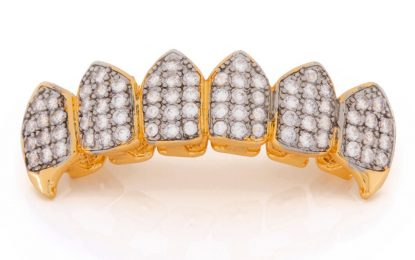Have a stylish diamond and other grillz for teeth for everyone
