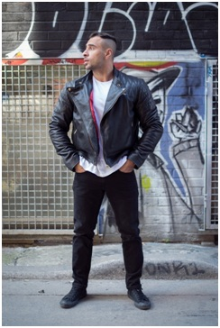 Denim Guide How To Wear Leather Jackets With Jeans Louboutin Heel