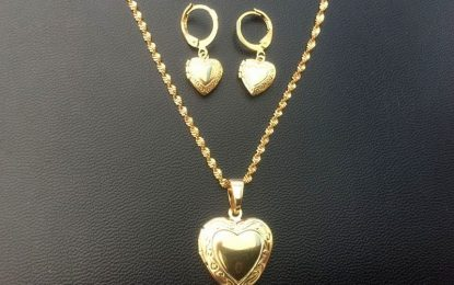 Timeless Gift For Her-Heart Jewelry