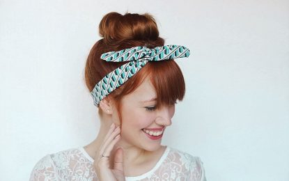 Hairband for keeping the hair at one place: