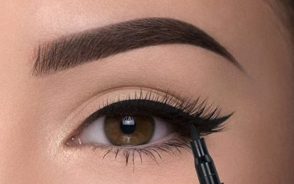 Make the eyes bold with a good quality  Eye pencil