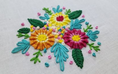 Some of the unique hand embroidery designs