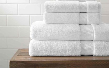 Always use 100% cotton towels in the home: