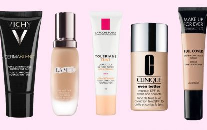 Cover imperfection with an effective foundation