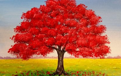 Painting Fall Red This Year (2017)