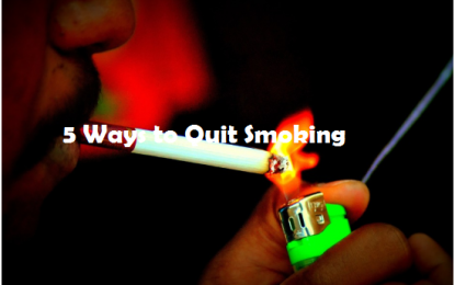 5 Ways to Quit Smoking