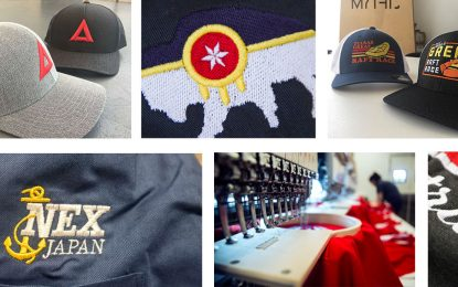 Process to Create Custom Logo Embroidered Caps