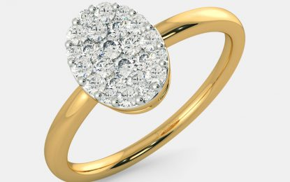 Gift the diamond ring to the lady luck: