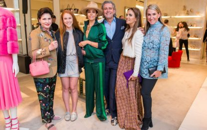 Courtney Sarofim Attends the 'Safe at Home Luncheon and Style Show' by Astro Foundation