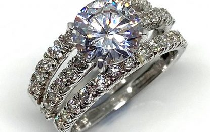 Fake Engagement Rings Are Now Getting The Right Hype They Deserve